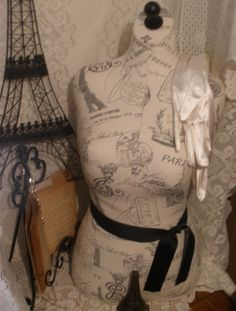 Boutique Dress form designs with stand. Life size torso great for store front or home decor.