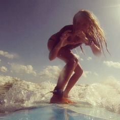 Love surfing!