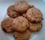 VEGAN peanut butter cookies!! YAY it won't upset my tummy!