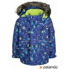 Kamik ASTRO BOY Winter jacket cobalt #winterjacket #cold #boys #covetme #kamik
