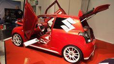 Suzuki Swift Sport Candy Red at Essen Motorshow - Exterior Walkaround