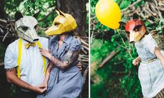 These Geometric Paper Masks Look So Professional...But You Can Make Them Yourself