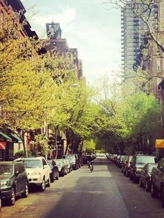 Springtime in upper east side NYC