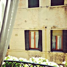 Beautiful view from #HotelSanSamuele in #Venice #fresh #love  www.fleetinglife.com