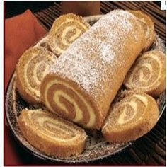 Libbys Pumpkin Roll....I make this every year and my family loves it