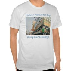 Nathan's Famous Hot Dogs Adult T-shirt