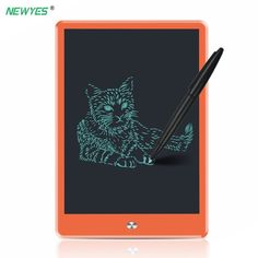 Computer Peripherals Chipal Yellow 9 Lcd Writing Tablet Digital Drawing Tablet Toys Handwriting Pads Graphic Electronic Tablet Portable Chick Board Computer & Office