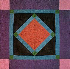 Amish Quilt Patterns - Amish Diamond Quilt Step 3