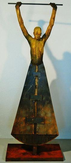 Original bronze sculpture by Jesus Curia Perez - Paris Art Web www.designdecor.hu szobir, figura, dekoráció, reklámtárgy gyártás.