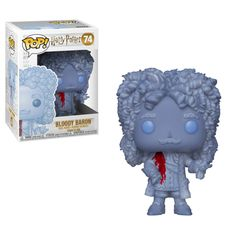 The Bloody Baron makes for a ghostly addition to any Pop! This Harry Potter Bloody Baron Pop! Vinyl Figure measures approximately 3 tall. Comes packaged in a window display box. Harry Potter Pop Figures, Harry Potter Shop, Dobby Harry Potter, Harry Potter Characters, Funko Pop Harry Potter, Ginny Weasley, Ron Y Hermione, Hermione Granger, Mega Man