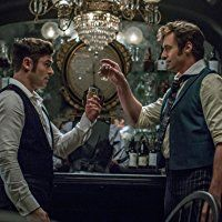 Hugh Jackman and Zac Efron in The Greatest Showman (2017)