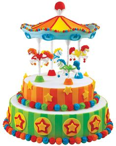Carousel Cakes Images