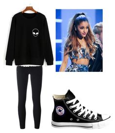 """""""Girl Meets Hart's Mom #4"""" by bella-014 ❤ liked on Polyvore featuring adidas Originals and Converse"""