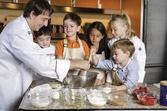 Kids Culinary Arts Center with Holland America