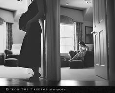 Beautiful maternity series by From the Treetop Fine Art Photography.