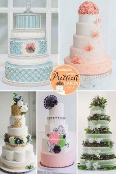 Canada's Prettiest Wedding Cakes For 2014
