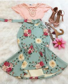 Girls Fashion Clothes, Girl Fashion, Fashion Dresses, Clothes For Women, Womens Fashion, Pin Up Outfits, Cute Casual Outfits, Pretty Outfits, Moda Fashion