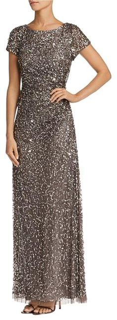 cc25b4bc Adrianna Papell Lead Women's Sleeveless Cowl Back Gown Long Formal Dress  Size 14 (L)