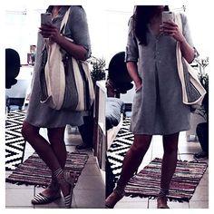 Looking forward to wear this summer outfit ☺️☀️ #styling #mynewbag #happy #newin #ss2016 #newin #prettybag #starmela #comfy #summer #lookingforward #coconutandmint #blogger