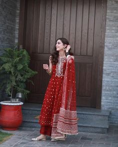 Designer dresses indian - mayaali in Norway wearing, Outfit by Indian Bridal Outfits, Pakistani Outfits, Pakistani Long Dresses, Pakistani Fashion Casual, Indian Designer Suits, Indian Designer Clothes, Ethnic Outfits, Ethnic Dress, Trendy Outfits
