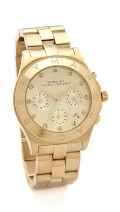 nice Montre pour femme : Marc by Marc Jacobs Large Blade Chrono Watch...