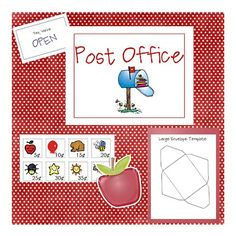 Pretend Post Office Activities
