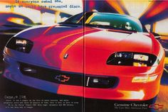 More than five million Camaros have been sold over the better part of six decades. These are the best ads that helped sell them.