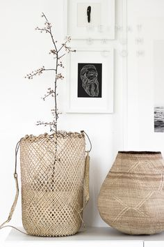 Scethno Interior vom Feinsten! - HEIMATBAUM Couleur Locale Basket, Folded Hands Print, Art, Ethno, Scandi