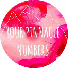 pinnacle numbers Tap Into the 4,000 Year Old Science of Numerological Analysis with a Free Numerology Report! Your Name is No Accident!!! Be an Affiliate for FREE :) http://video.numerologist.com/free-video.php?utm_source=shiftup247&hop=shiftup247 #numerologist