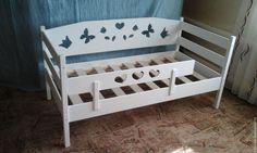 Купить Кровать - комбинированный, детская кровать, кровать, кроватка детская, мебель для детской, массив сосны