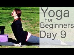 Exercise For Beginners Yoga For Beginners 30 Day Challenge Day 9 with Lesley Fightmaster - 30 Minute Yoga, 30 Day Yoga, Yin Yoga, Yoga Meditation, Yoga Youtube, Basic Yoga, Yoga Poses For Beginners, Yoga Videos, Workout Videos