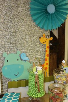 """Photo 1 of 12: Safari/jungle / Baby Shower/Sip & See """"Safari Baby Shower"""" 