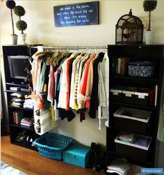 organizar ropa sin closet