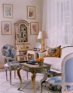 french livingrooms | Photo of a Living Room by John Maciejowski Interiors- Interior Design ...