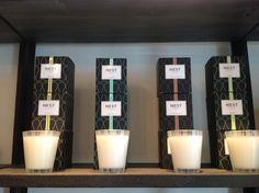 Nest candles  - bamboo, moss & mint, Moroccan amber, grapefruit