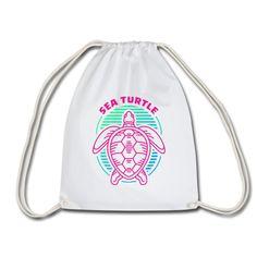 Geschenke Shop | Sea Turtle - Turnbeutel Shops, Hai, Drawstring Backpack, Backpacks, Fashion, Sports Activities, Gymnastics, Moda, Tents