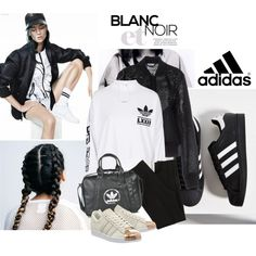 Crazy for Adidas by emeliet on Polyvore featuring adidas and Wish by Amanda Rose