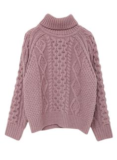 VARIOUS CABLE KNIT