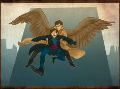Yeah, I don't think Sherlock would react well to angels...