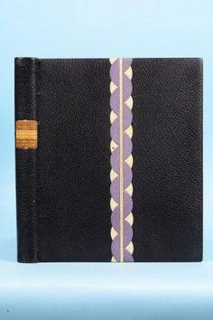 DU BELLAY (Joachim). Divers jeux rustiques. S.l., Les Cent une, 1936.   BINDING:  Madeleine Gras.
