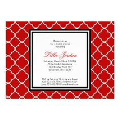 =>quality product          Red, Black & White Bridal Shower Invitation           Red, Black & White Bridal Shower Invitation We have the best promotion for you and if you are interested in the related item or need more information reviews from the x customer who are own of them before ...Cleck See More >>> http://www.zazzle.com/red_black_white_bridal_shower_invitation-161659707237475865?rf=238627982471231924&zbar=1&tc=terrest