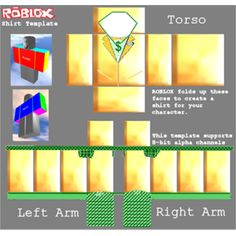 Roblox Skins Green Shirt Template Roblox Hacks Pinterest