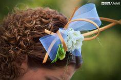 Svatba: květinový šperk do vlasů