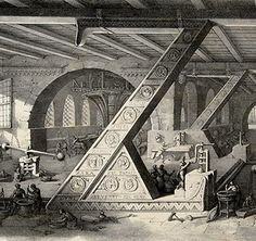 In Bologna, Italy in 1839, decorative artist Antonio Basoli published a fantastic set of lithographs for his book,AlfabetoPittorico(Pictorial Alphabet, or a collection of pictorial thoughts composed of objects beginning with the individual letters of the alphabet).His elaborate architectural drawings of twenty-four letters of the alphabet and one ampersand(sorry J & W),became later known asBasoli's Alphabet.