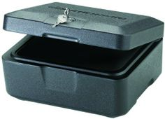 SentrySafe 500 FIRE-SAFE Box, 0.15 Cubic Feet, Black by SentrySafe, http://www.amazon.com/dp/B000W8J75E/ref=cm_sw_r_pi_dp_UZ3Trb1AMAK5H