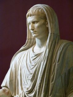 My history crush is Augustus Caesar. He's the first Roman Emperor and extremely attractive to boot. He created the Pax Romana and ruled Rome for many years. He had the typical crooked-nose of the Julio-Claudian Dynasty that made him oh-so-fine.