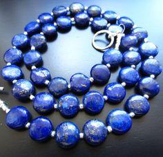 Evening Sky Lapis Lazuli Necklace by Azaiez on Etsy, $32.00
