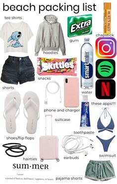 Travel Bag Essentials, Road Trip Essentials, Road Trip Hacks, Road Trips, Travel Packing Checklist, Packing List For Vacation, Road Trip Checklist, Packing Lists, Girl Life Hacks