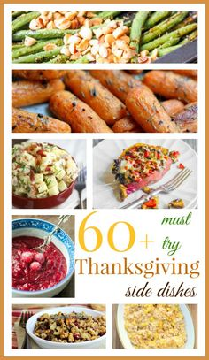 60+ Must Try Thanksgiving Side Dishes: from veggies to stuffing and more - Raising Whasians