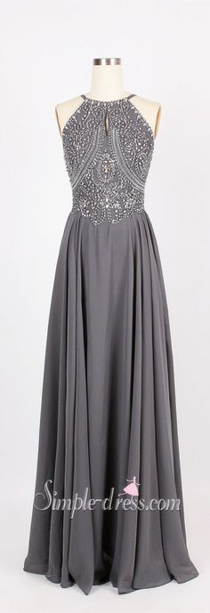 Prom Dress 2016,Long Prom Dress,A-Line Prom Dress,Chiffon Prom Dress,Floor-Length Prom Dress- this would be great in the burgundy option